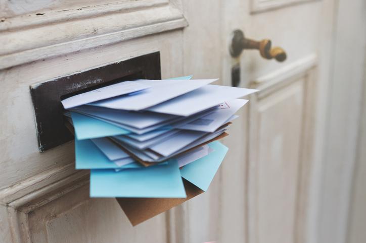 Postsendungen: Werbesendungen